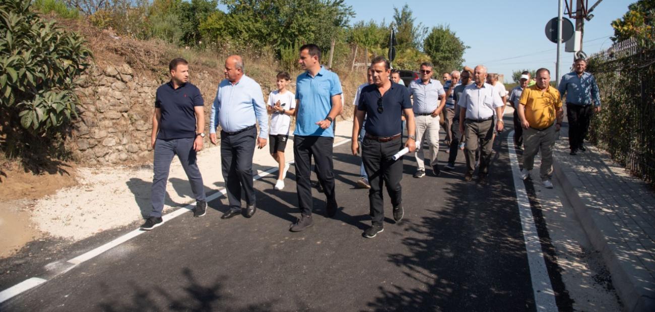 Bashkia Tiranë - Lagjja e Re në Ndroq me rrugë të reja